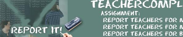 teachercomplaints, dénonce tes profs