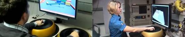 Interface haptique à lévitation magnétique