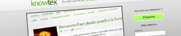knowtex réseau social de la culture scientifique et technique