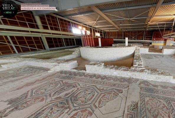 Villa gallo-romaine Loupian
