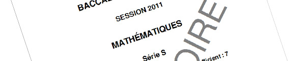maths-corriges-bac-s-2011